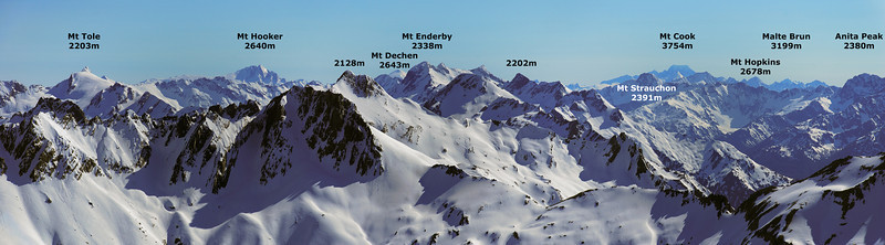 Panorama from Tent Peak