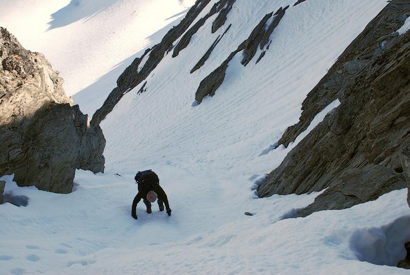 Climbing Tent Peak
