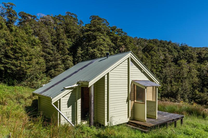 Maori Saddle Hut, Westland.