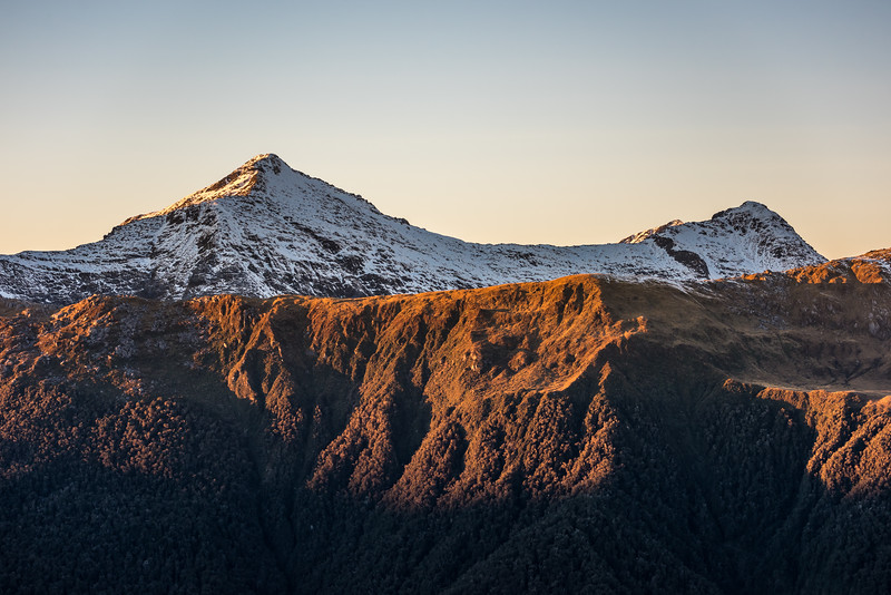 Law Peak at sunrise