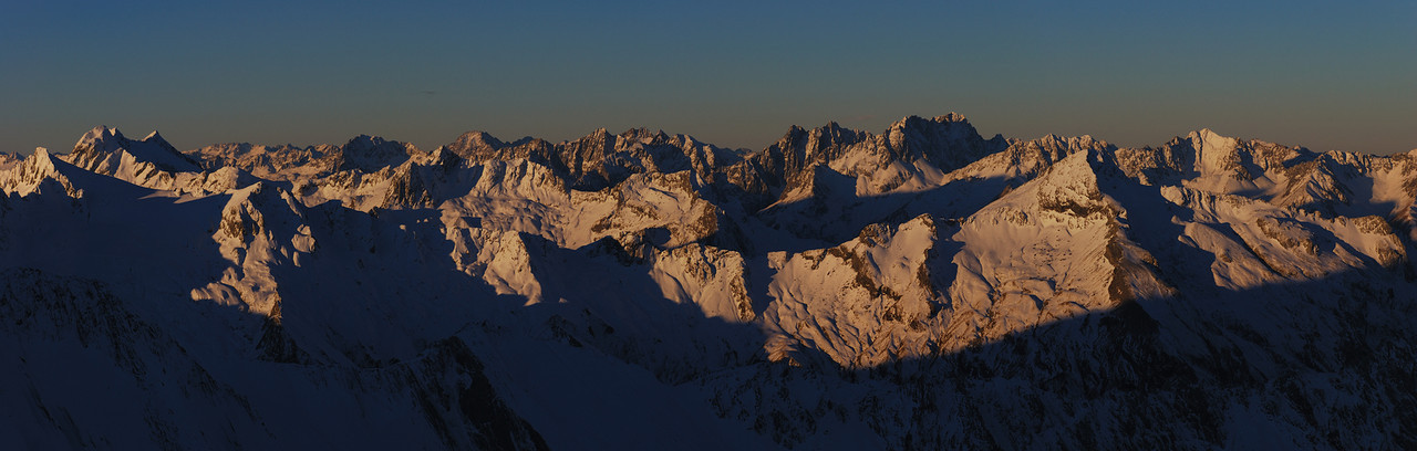 Panorama from Mt Armstrong