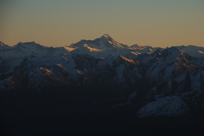 Mount Aspiring from Mount Armstrong
