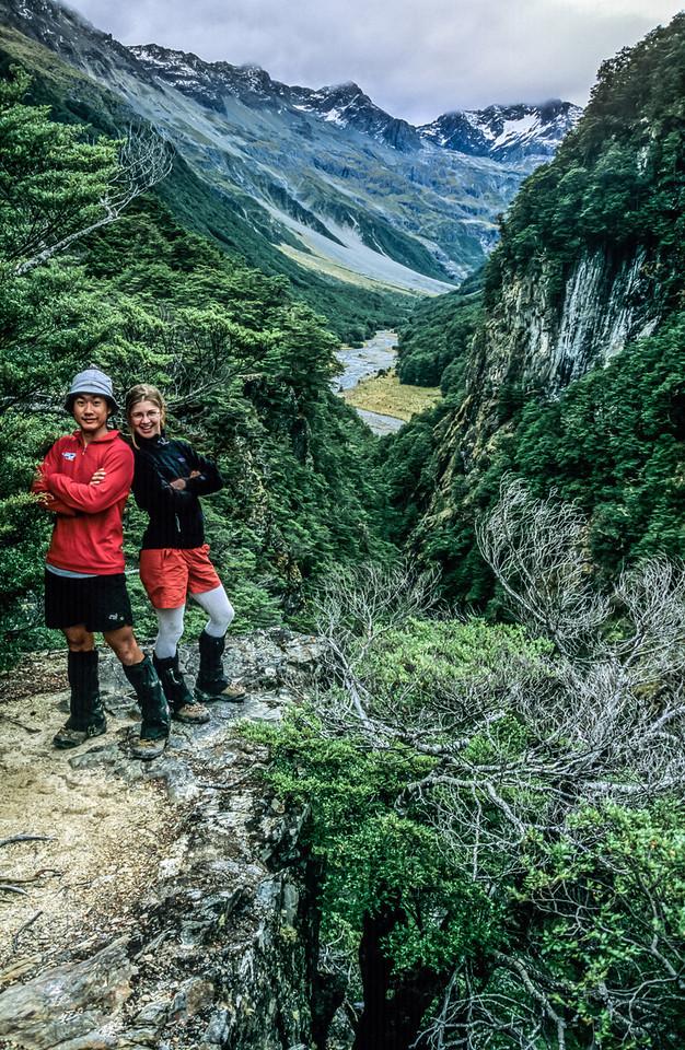 Descending Canyon Creek