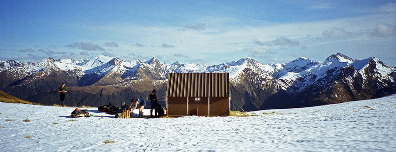 The old Brewster Hut