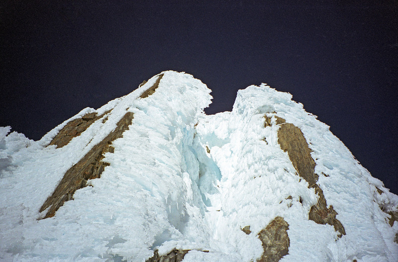 The summit step