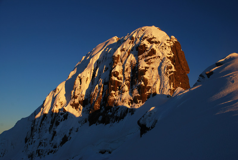 The summit of Mt Brewster at sunrise