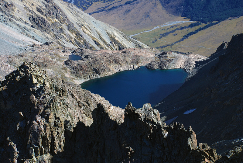 The lake below Mount Saint Mary