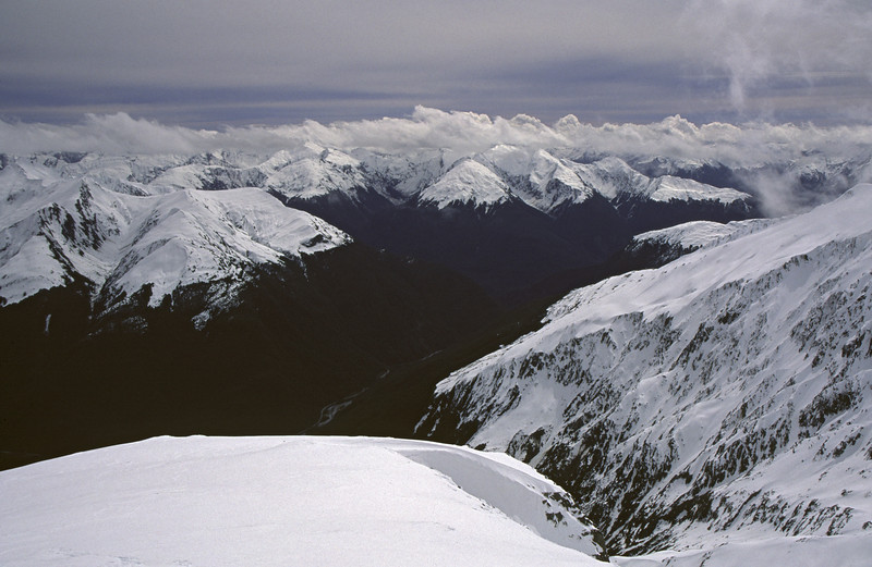 Looking west from Mt Armstrong