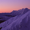 Cuttance Ridge and Mt Macfarlane