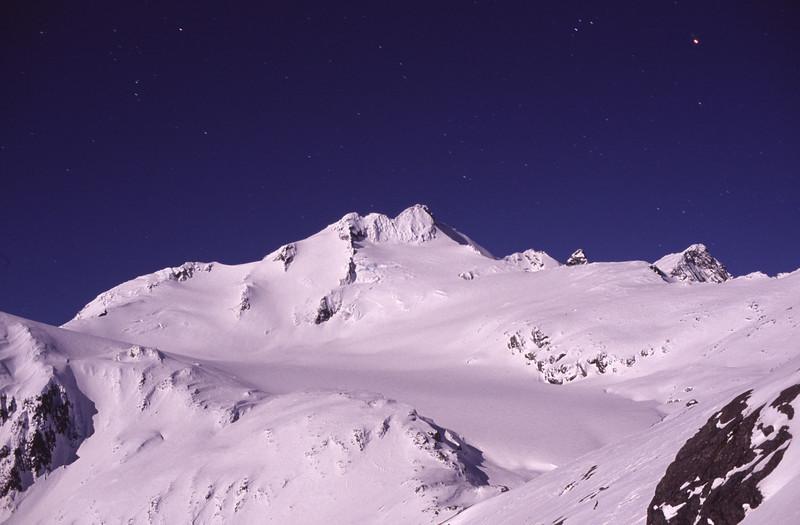 Mt Brewster by night