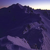 View from the top of Mt Armstrong: Mt Brewster at dawn