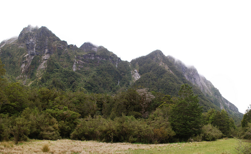 The cliffs below the Kea Nest, Stag Flat, Otoko River