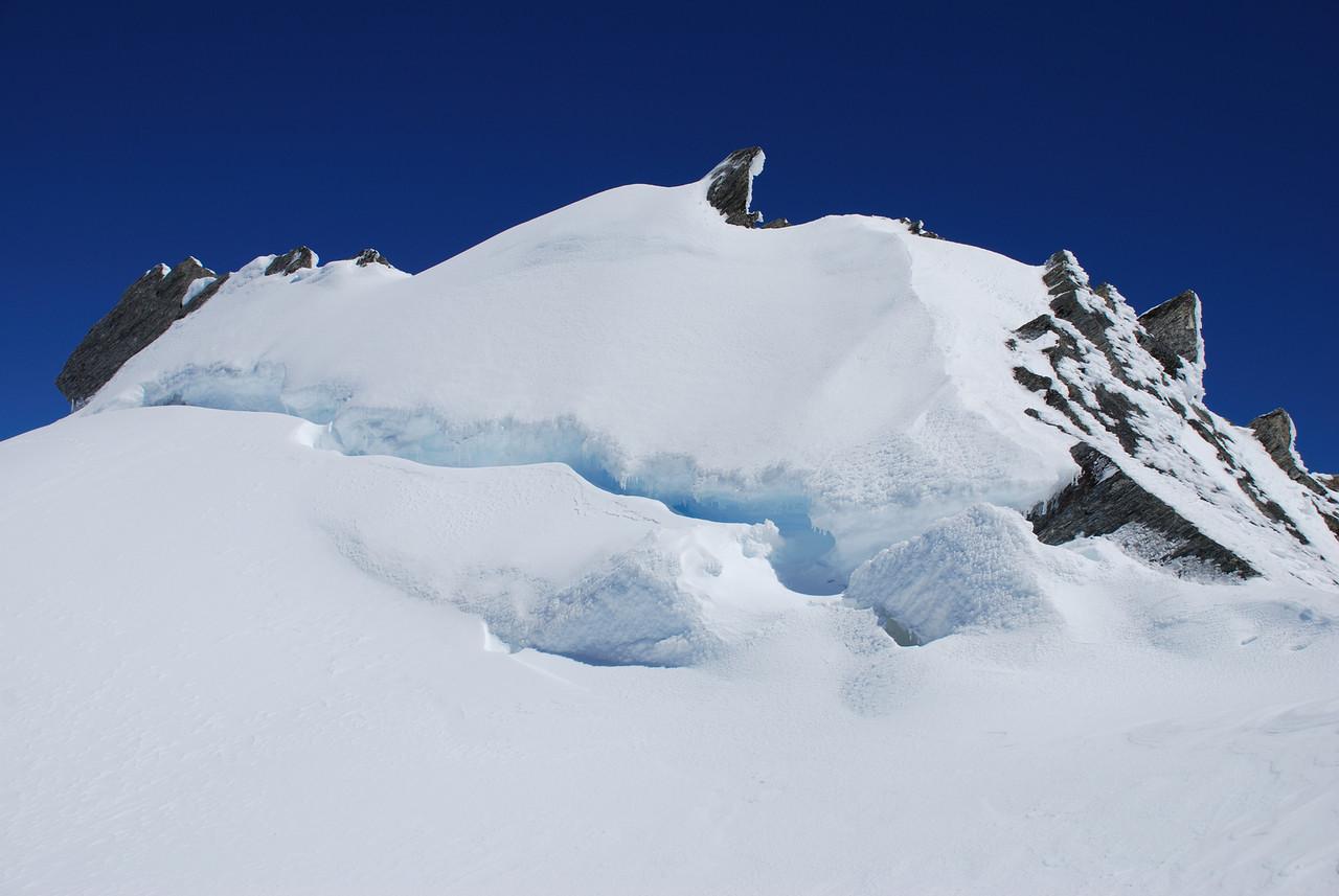 On Mt McCullaugh's west ridge