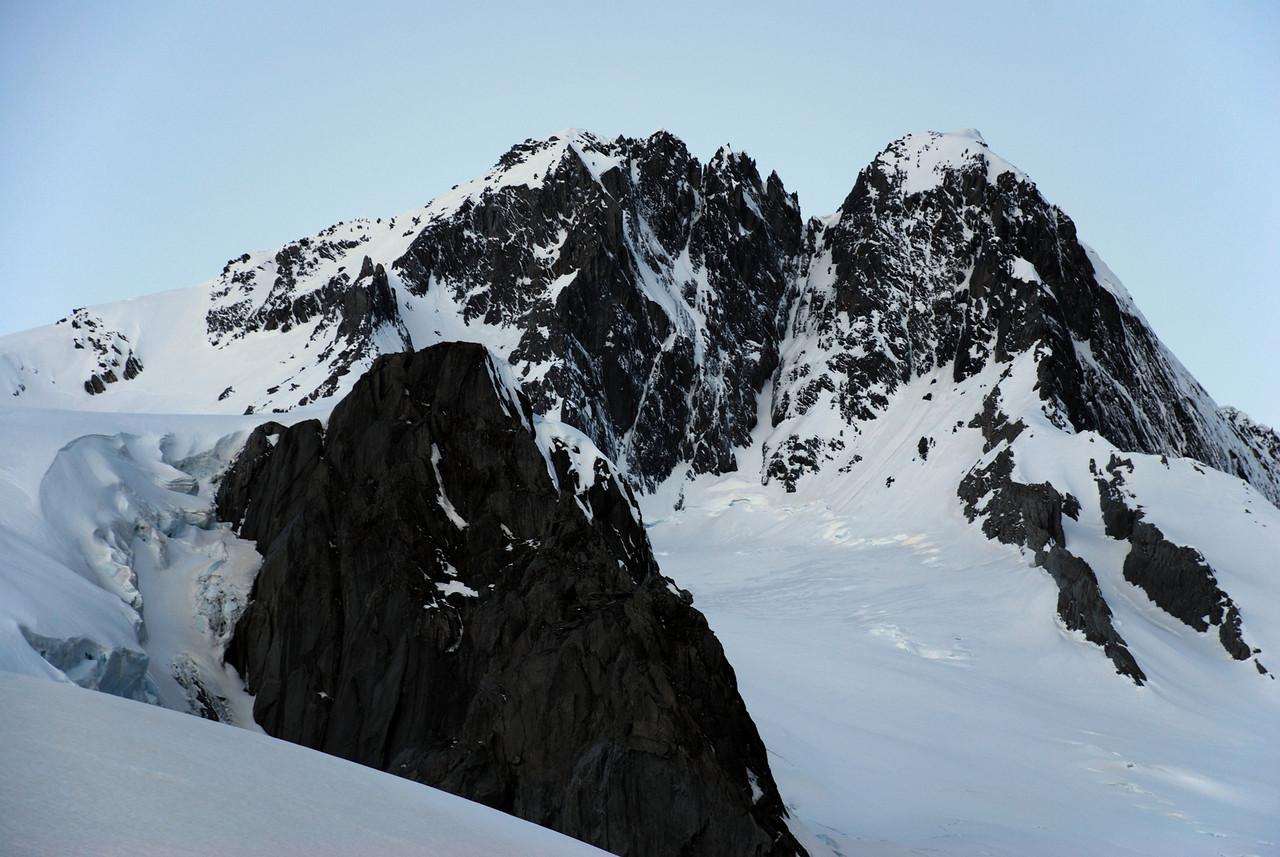 Mt Hooker south face