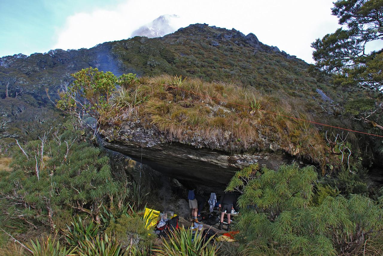 Tunnel Creek rock bivvy