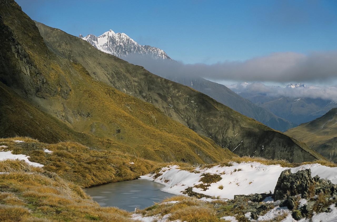 Mt Brewster from Wilson Pass