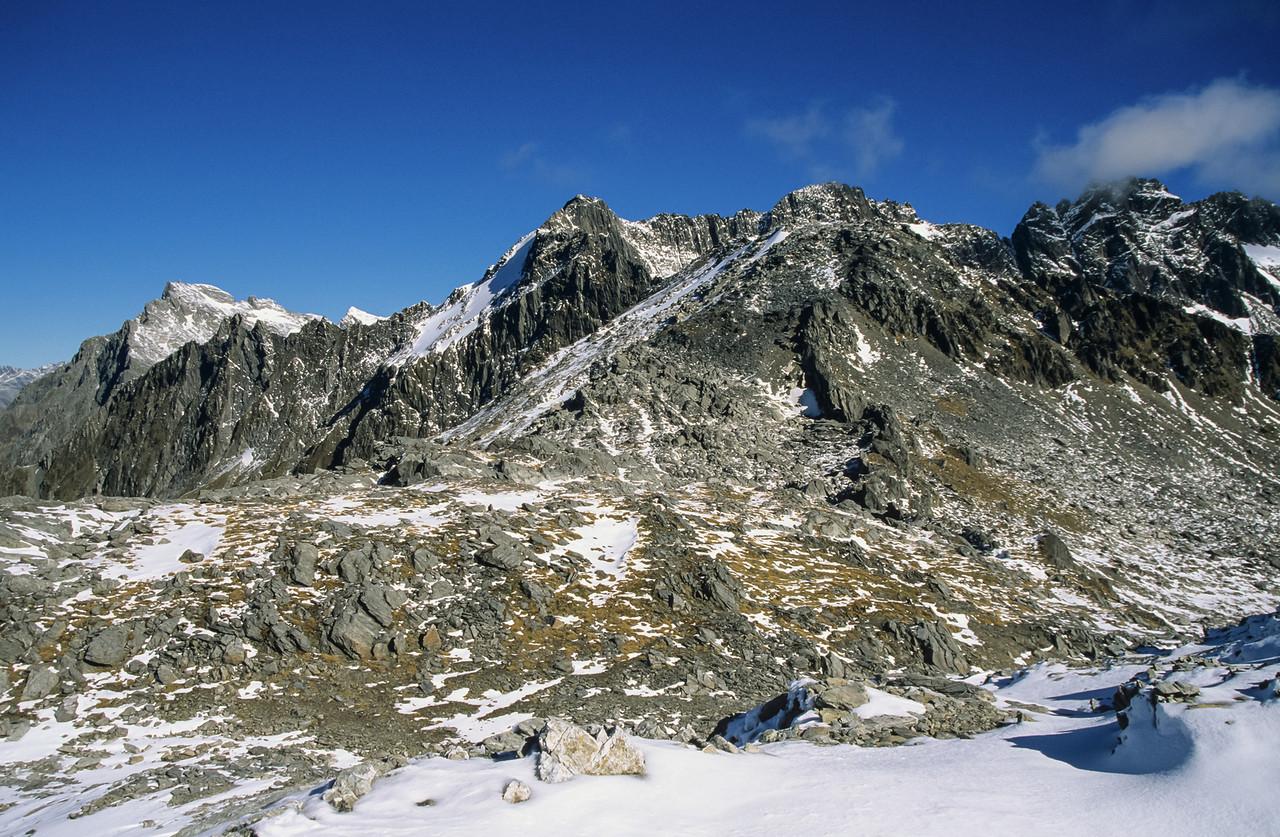 Upper Studholme Pass