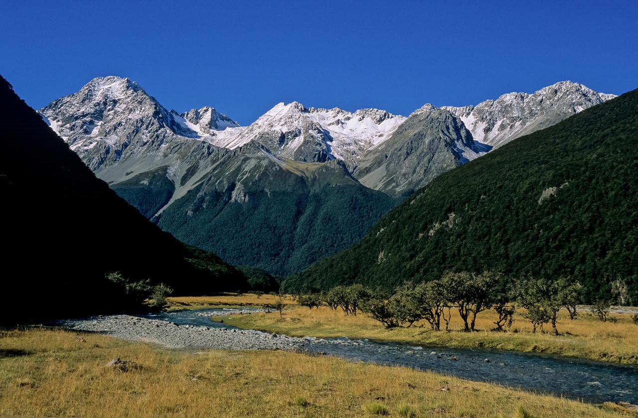 Huxley River and Naumann Range