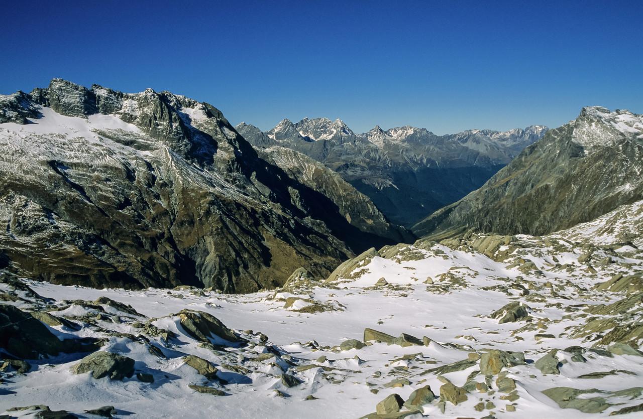 The Huxley Range from Napoleon