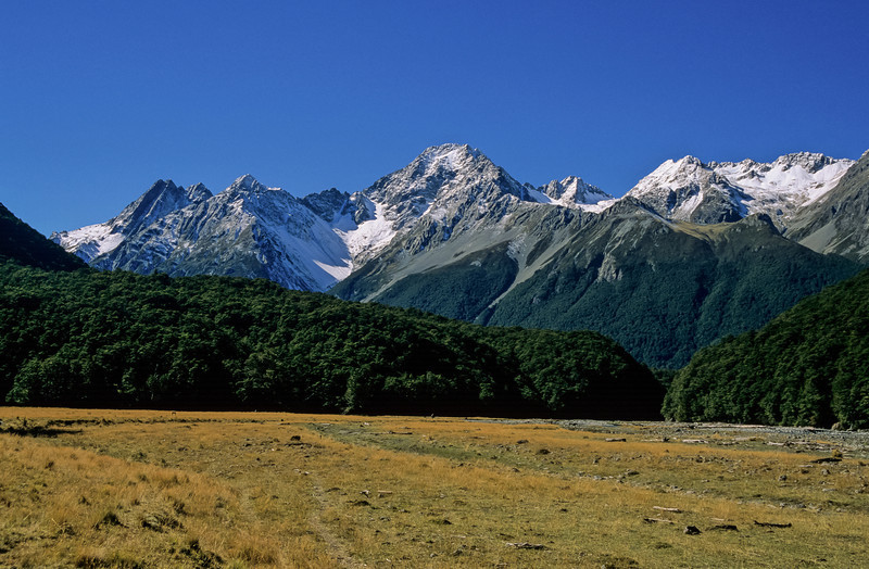The Naumann Range from the Huxley River
