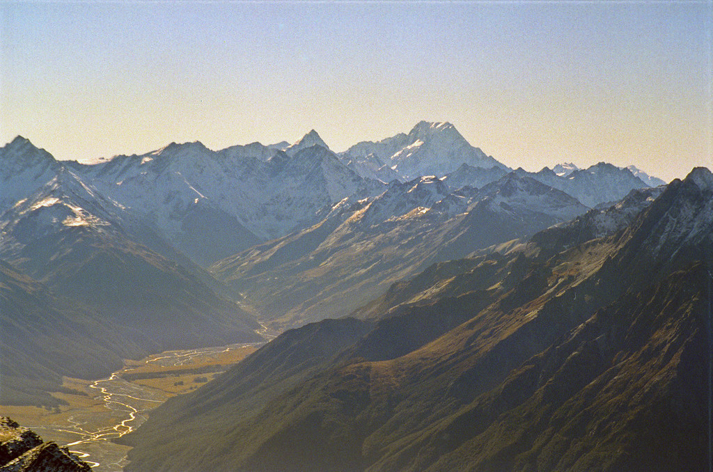 Mt Sefton and Mt Cook