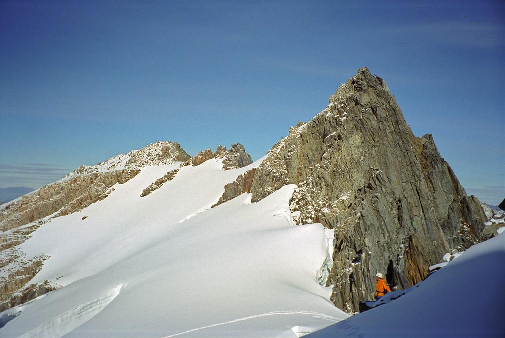 Rabbiters Peak summit ridge