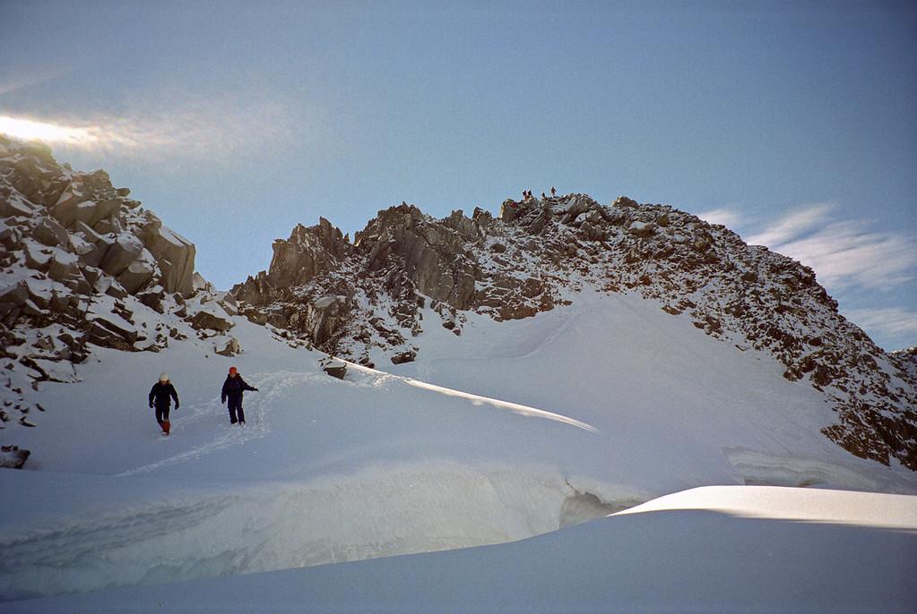 Rabbiters Peak summit rocks