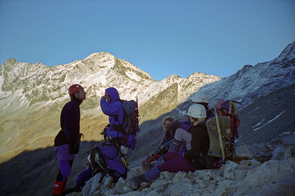 On the way to Rabbiters Peak, Temple Peak behind