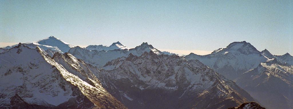 Mt Dechen and Mt Ward