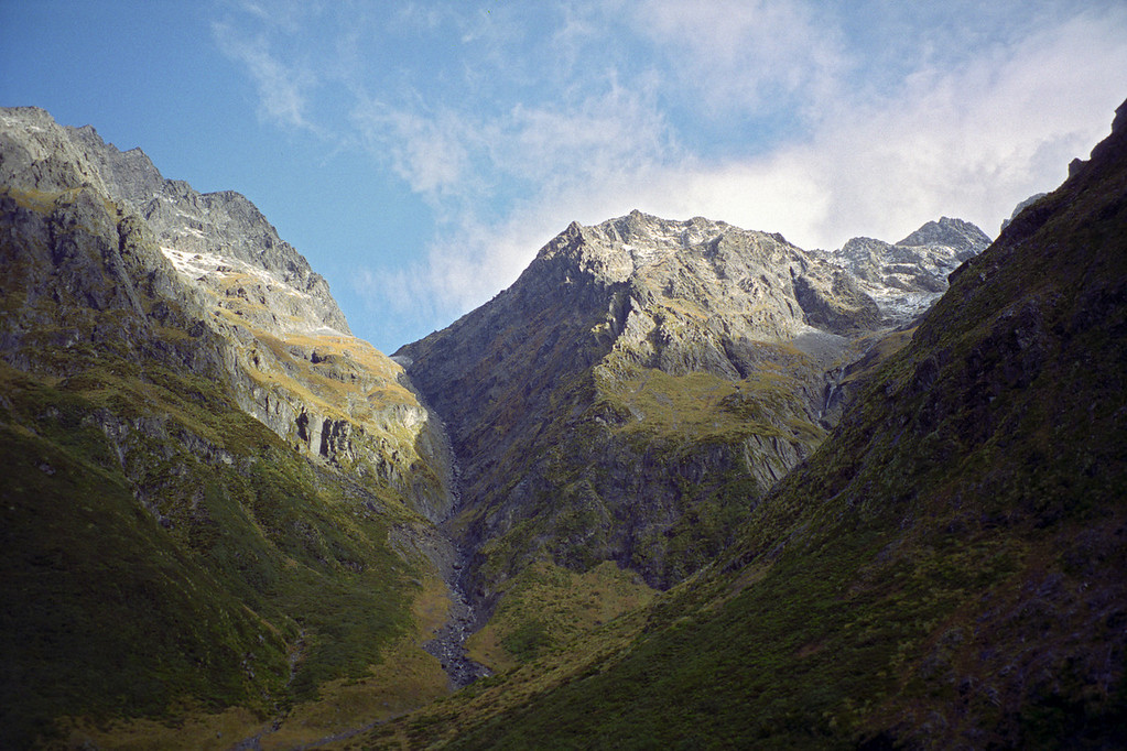 Gunsight Pass and Belfry Peak