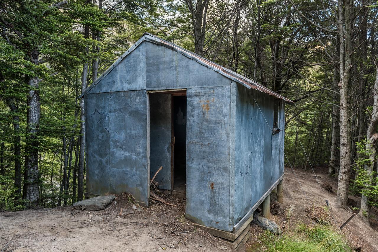 Sawyer Burn Hut