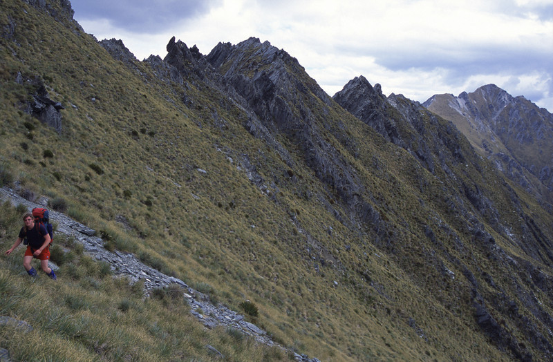 On the way from Sentinel Peak to Teat Ridge