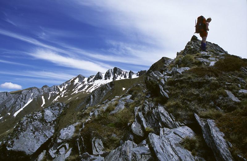 On the SE ridge of Sentinel Peak