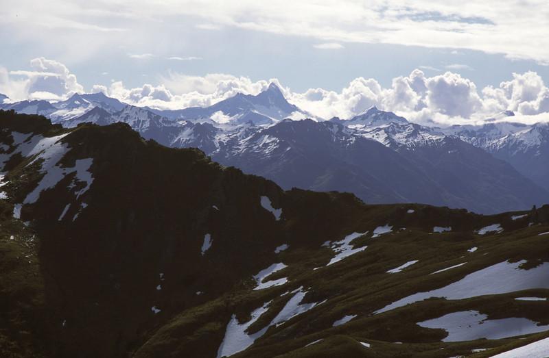 Mt Aspiring from Teat Ridge