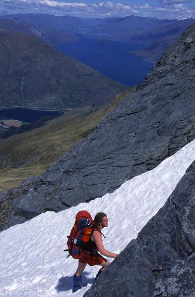 Climbing Sentinel Peak