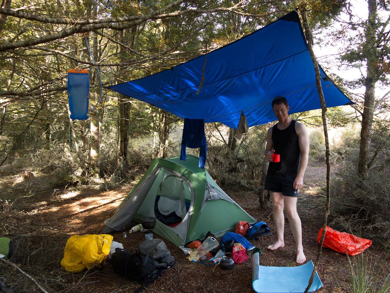 Bush camp in the roar '14