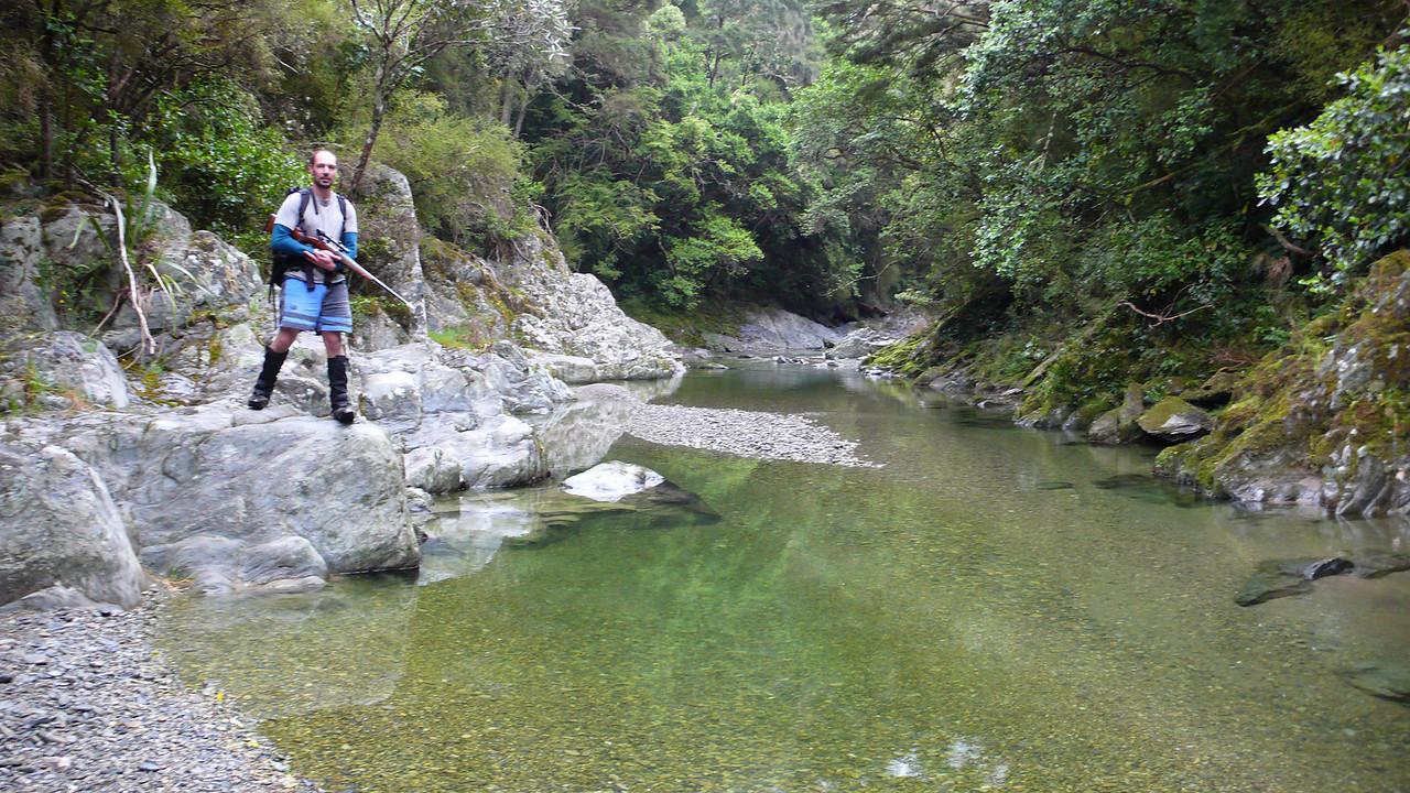 Wainakarua River, near Staircase Hut, East Otago. Spring '11