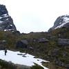 F-Knob and Emily Peak from near Lake Mackenzie