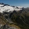 Mt Avalanche and the Glacier Burn