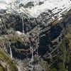 Glacier Burn waterfalls