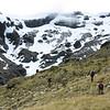 Climbing towards O'Learys Pass