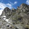 Bluffs below O'Learys Pass