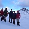 The team on Wilmot Saddle