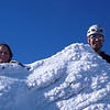 Nina and Aaron on the summit of Ocean Peak