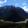 Somnus and Momus from near Routeburn Falls Hut