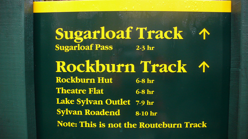 This is not the Routeburn Track