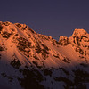 Sunrise on Eagle Peak and Mt Thomson