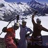 On peak 2428m above Barrow Col