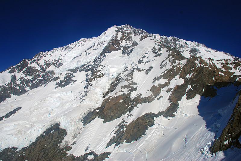 The Caroline Face and the East Ridge of Aoraki / Mount Cook from Boys Col