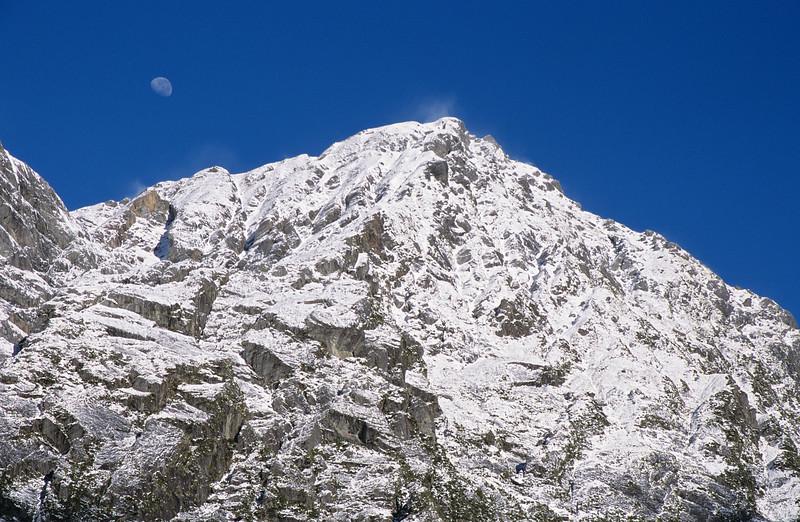 Moon over the Sierra Range